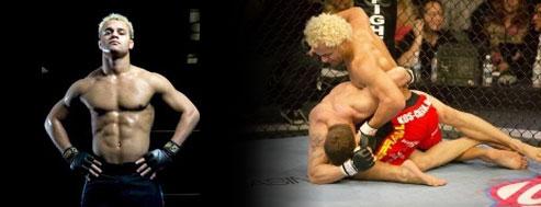 UFC Fighter Josh Koscheck Banner