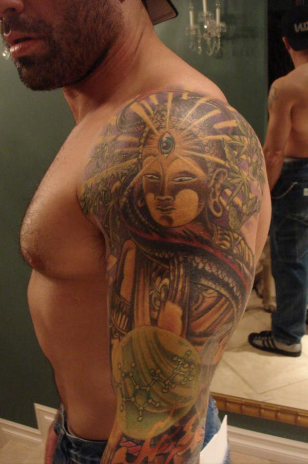 Photo: Joe Rogan has a lot of tattoos - MMA Mania