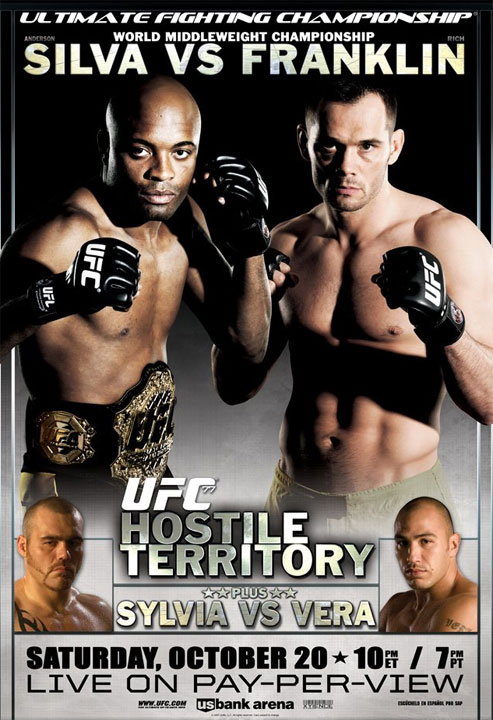 UFC 77: Tim Sylvia vs. brandon Vera