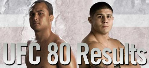 ufc 80 live results