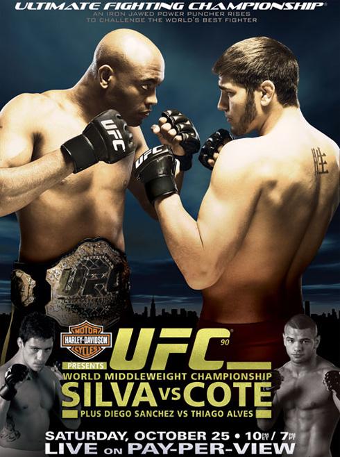 UFC 90 poster