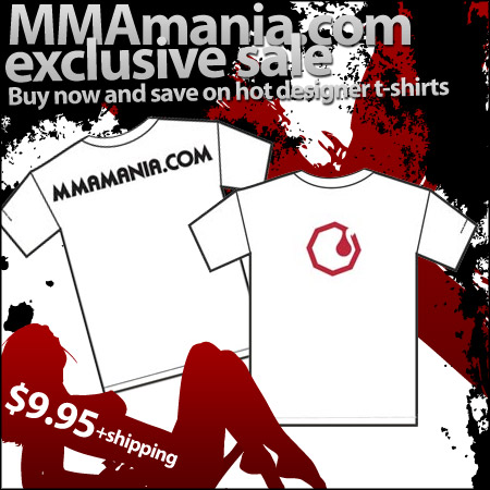 MMAmania T-shirt special