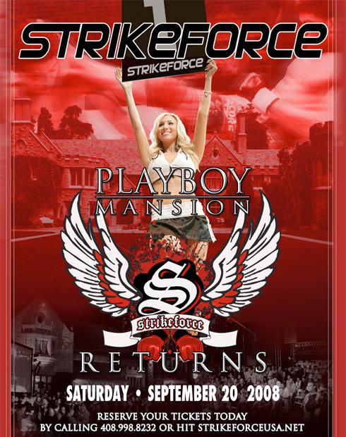 Strikeforce Playboy Mansion