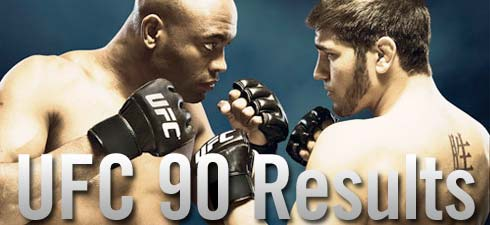 ufc 90 results