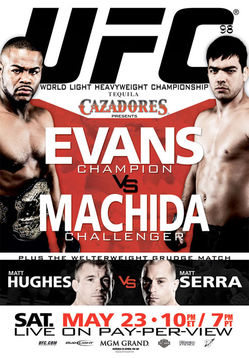 UFC 98 poster for 'Evans vs Ma...