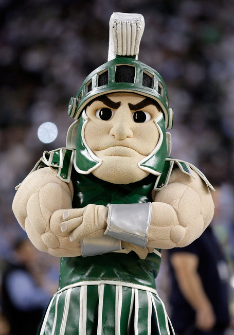 Sparty-the-mascot-for-the-michigan-state-spartans-looks-on-in-the-first-half_medium