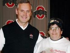 Tressel is the one on the left.