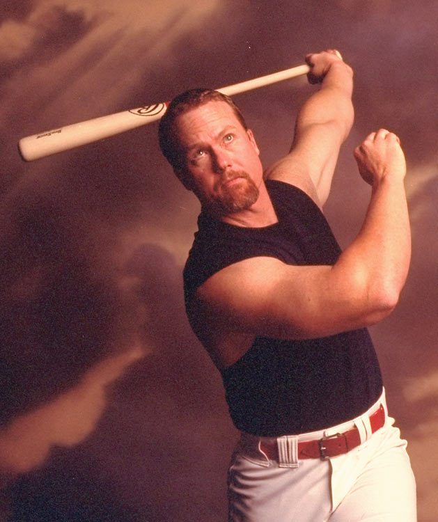 Mark McGwire Bulked Up Just A Bit