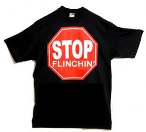 flinchin