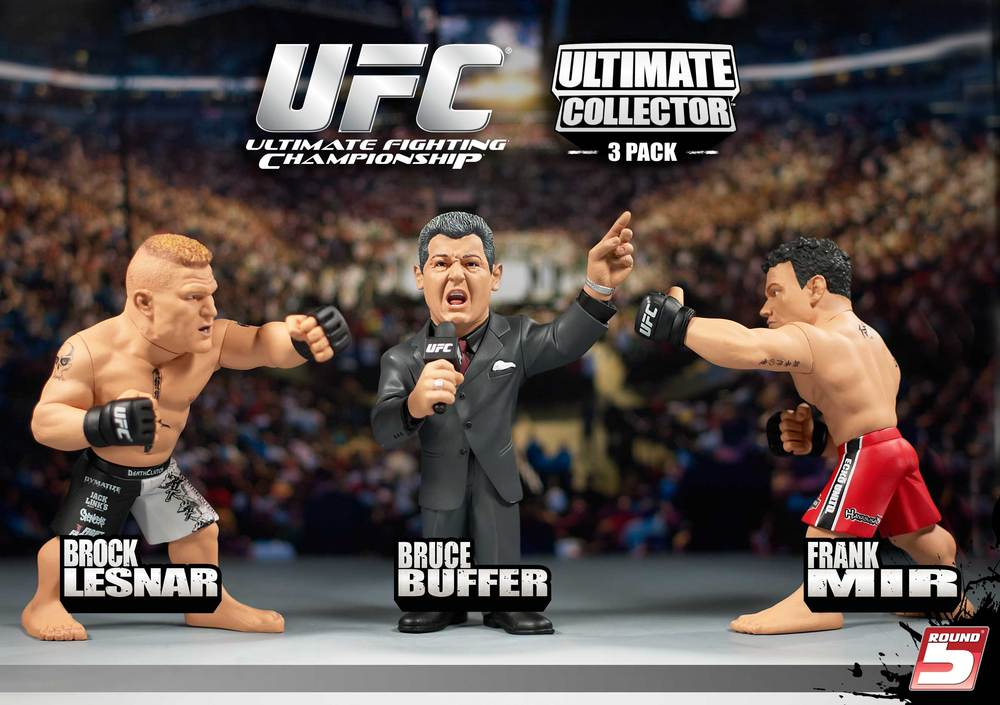 Round 5 Exclusive 3 Pack With Buffer Preview Of Live Series At Ufc Fan Expo In Boston