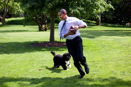 Obama-and-dog-bo-playing-football_medium