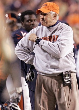 Head Coach Al Groh, courtesy AP