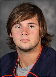 George Huguely, courtesy UVa Media Relations