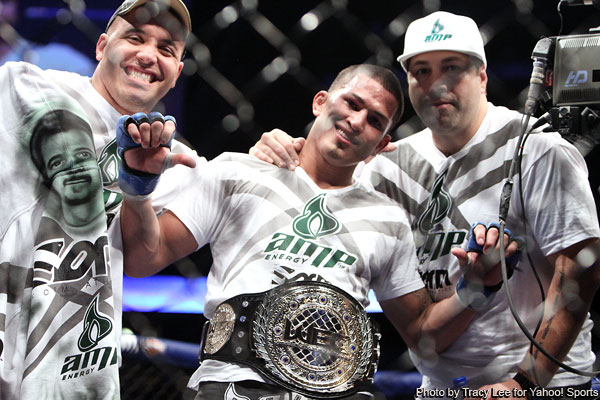 Pat Barry Anthony Pettis UFC WEC photos