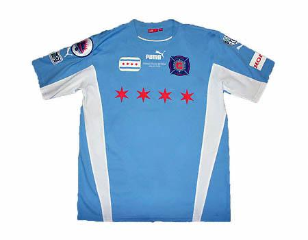 time period between 2003-2005  Puma was in charge of designing Chicago    Official Chicago Flag