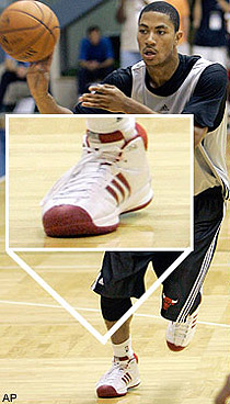 derrick rose signs adidas contract