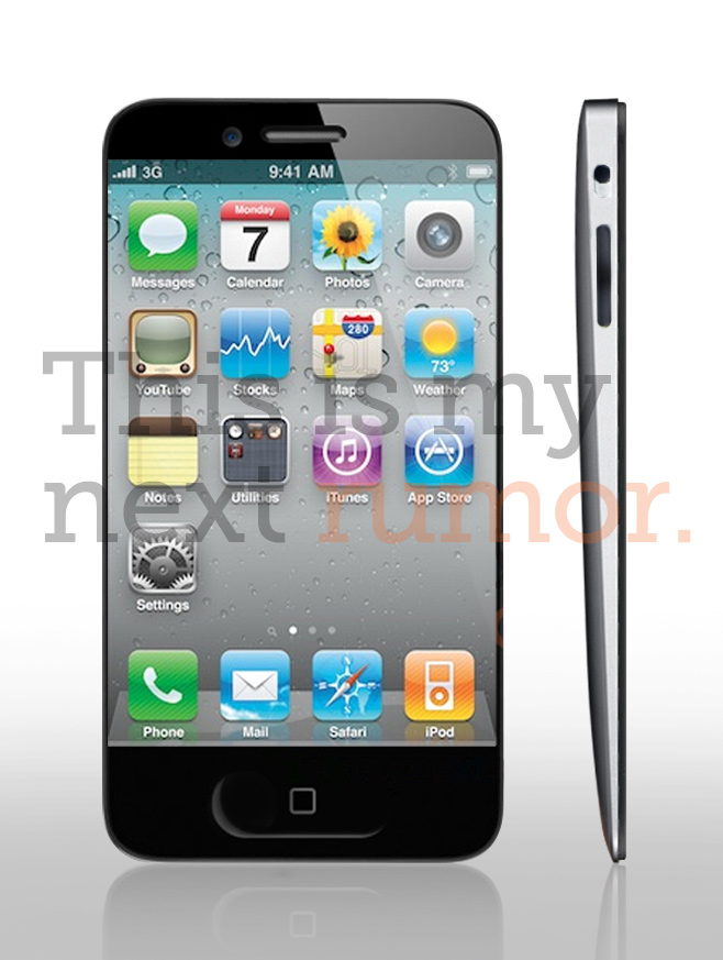 Is This What The IPhone 5 Will Look Like updated