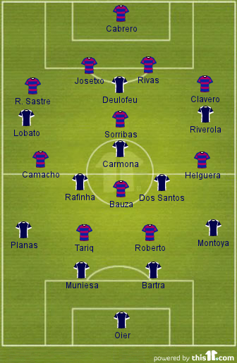 Image Result For Starting Line Up En Vivo Sevilla Vs Bayern Munich En Vivo