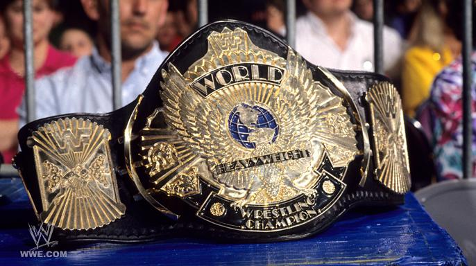 Is the WWE championship spinner design being replaced by a classic