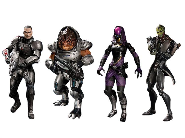 Mass Effect 3 Figures Mass Effect 3 Doesn't Come Out