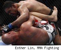 Antonio Rogerio Nogueira TKOs Tito Ortiz at UFC 140.