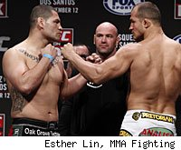 Cain Velasquez vs. Junior dos Santos is the main event of UFC on FOX on Saturday night.
