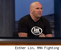 Dana White will answer questions from the media at the UFC on FOX press conference.
