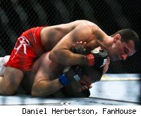 Anthony Perosh submits Cyrille Diabate at UFC 138.