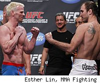 Brian Ebersole vs. Dennis Hallman is a fight on the pay-per-view card on UFC 133 in Philadelphia.