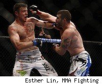 Nate Marquardt and Dan Miller at UFC 126