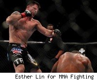 Brian Stann knocks out Jorge Santiago at UFC 130.