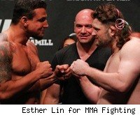 Frank Mir faces Roy Nelson at UFC 130.