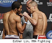 Jose Aldo vs. Mark Hominick is the co-main event on the UFC 129 fight card.