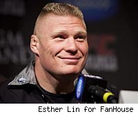 Brock Lesnar vs. Cain Velasquez will be the main event at UFC 120.