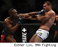Jon Jones will face Rampage Jackson in the main event of UFC 135 on Saturday night.