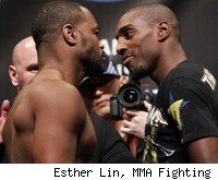 Rashad Evans faces Phil Davis at UFC on FOX 2 in Chicago.