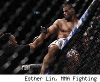 Rousimar Palhares wins his fight at UFC 142.