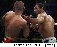 Jose Aldo faces Chad Mendes at UFC 142 in Brazil.