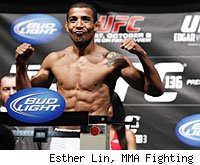 Jose Aldo will try to make weight for his UFC title defense at the UFC 142 weigh-ins Friday afternoon.
