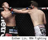 Nate Diaz beats Donald Cerrone at UFC 141.