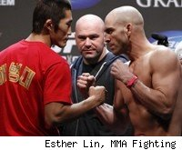 Dong Hyun Kim faces Sean Pierson at UFC 141.