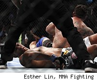 Frank Mir submitted Antonio Rodrigo Nogueira at UFC 140.