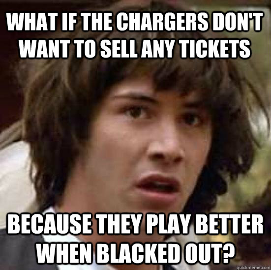 Fun With San Diego Chargers Memes Bolts From The Blue