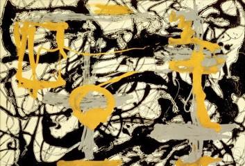 jackson-pollock-yellow-grey-black