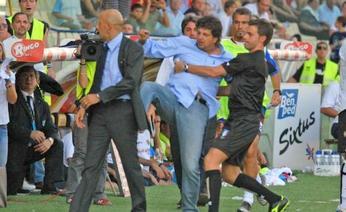 Catania boss Baldini kicks his was into the hearts (or posteriors ) of many