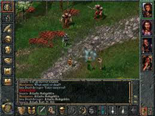 screenshot from Baldur's Gate