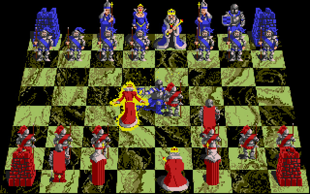 screenshot from Battle Chess