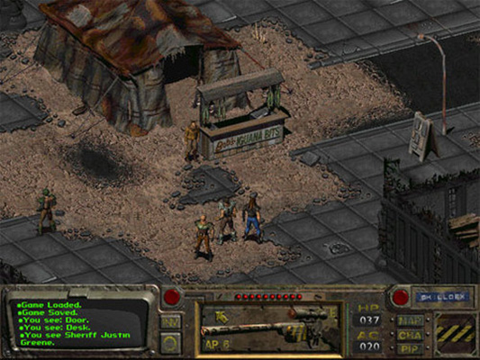 screenshot from Fallout