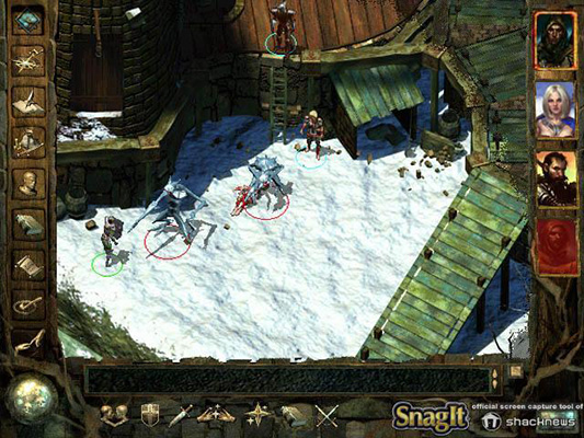 screenshot from Icewind Dale
