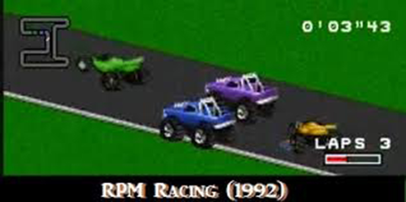 screenshot from RPM Racing